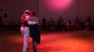 2012 Aug -  Graciela and Osvaldo dancing canyengue to Poema at the Cabaret Parisien Ball