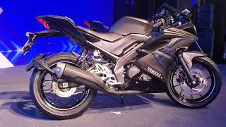 Yamaha R15 V 3.0 ABS Dark Knight walkaround, First look