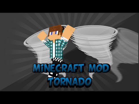 Tornados Devastadores | Minecraft Mod 1.4.6 Weather e Tornadoes