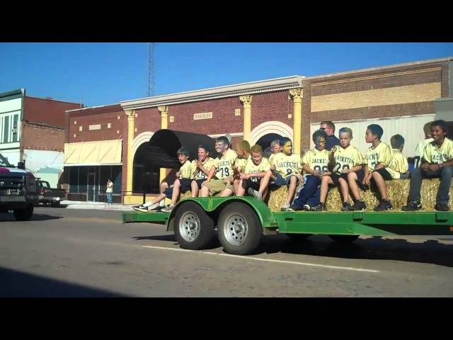 Kingfisher Ok Homecoming Parade Video1