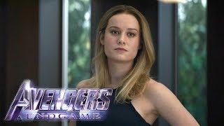 Avengers: Endgame Clip: Captain Marvel Explains Where She's Been