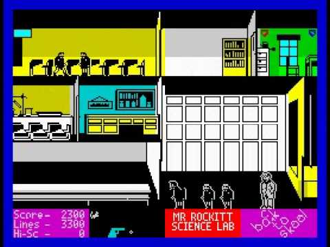 Spectrum Back to Skool Back to Skool Walkthrough
