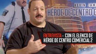 Entrevista con Kevin James, Eduardo Verástegui por Paul Blart, Héroe de centro comercial 2