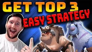 Most CONSISTENT STRATEGY to get TOP 3 🐻   Auto Chess Mobile Excoundrel