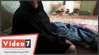 بالفيديو..مأساة أسرة.. أم بُترت قدمها بسبب السكر وفقدت بصرها بعد إصابة ابنتها بالشلل
