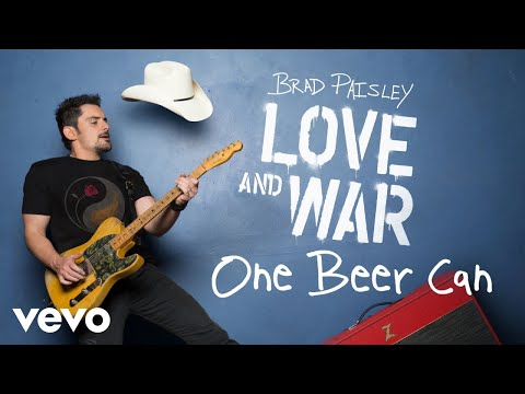 Brad Paisley - One Beer Can (Audio)