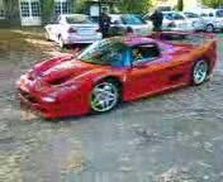 Ferrari F50 in Anholt
