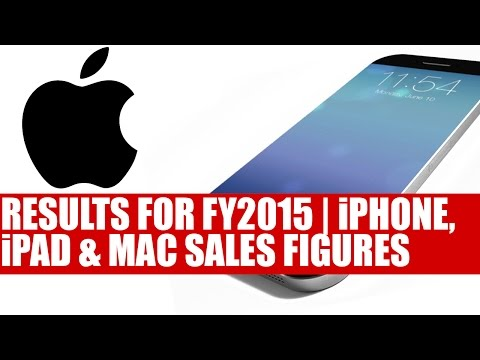 Apple Posts Results For Q1 FY2015 | iPhone iPad & Mac Sales Figures