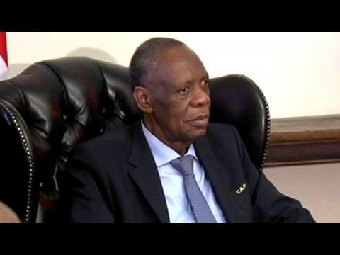 Issa Hayatou pays President Zuma a courtesy visit