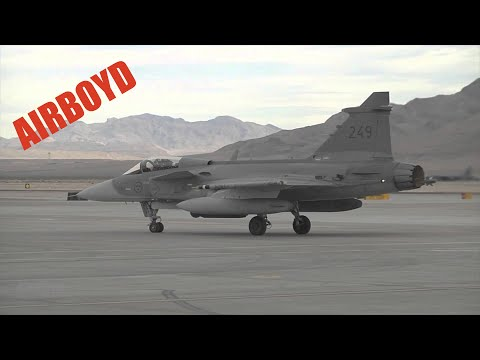 Saab JAS 39 Gripen At Red Flag (2013)
