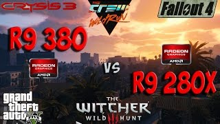 AMD R9 380 vs R9 280x Test in 6 Games (i5 4690k)