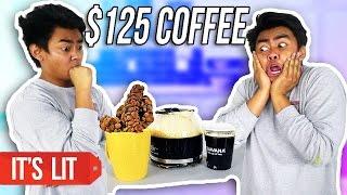 $1 COFFEE VS $125 COFFEE!