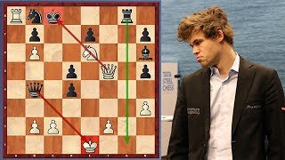 10 Year Old Beats Magnus Carlsen
