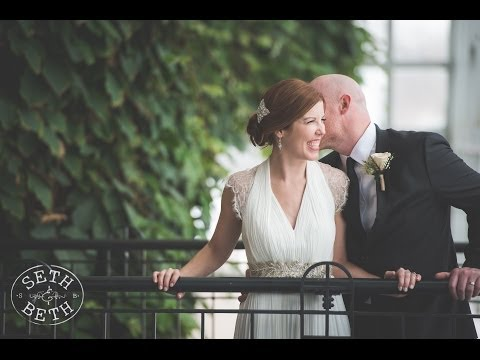 Derik & Becky | Franklin Park Conservatory Wedding | Seth and Beth - Wedding Photography