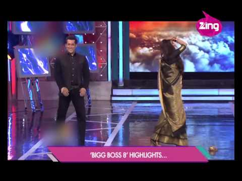 Rekha Shakes Her Legs With Salman video