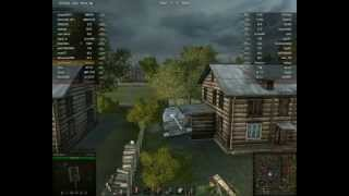 Баг на карте Энск World of Tanks