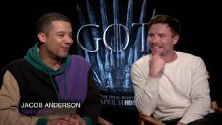 What's the craziest GOT fan theory you've heard? | Game of Thrones cast interview