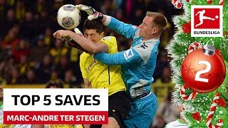 Marc-Andre ter Stegen - Top 5 Saves - Bundesliga 2019 Advent Calendar 2