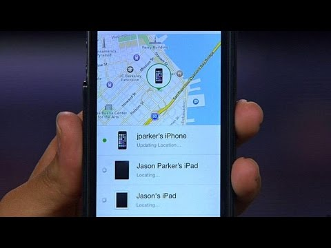 CNET How To - iOS 8 gives Find My iPhone a boost