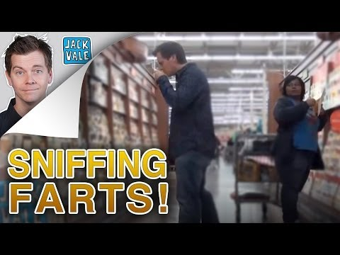 Sniffing Farts In Public! video