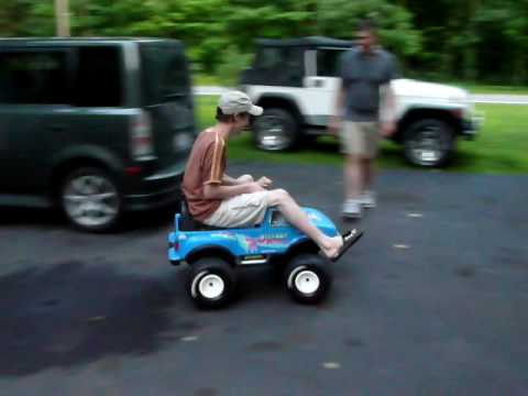 Bigfoot Power Wheel Power Wheels Over Volted From