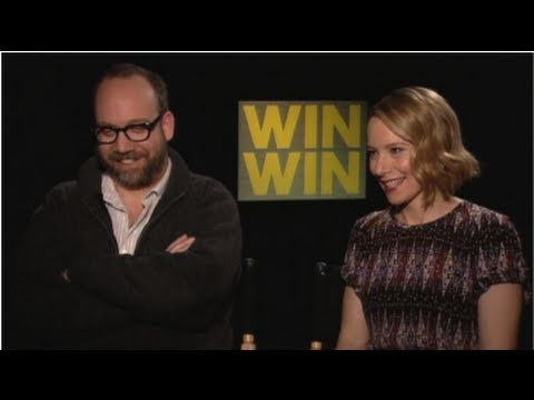 Paul Giamatti and Amy Ryan on Jersey Accents, The Office Finale, and George Clooney's Humor