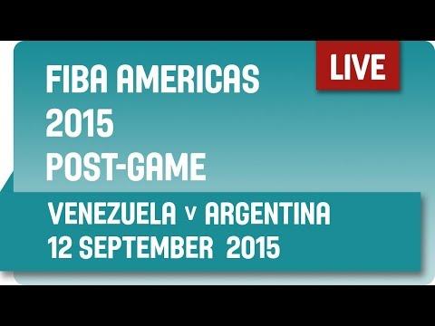 Post-Game: Venezuela v Argentina - Championship Game  -  2015 FIBA Americas Championship