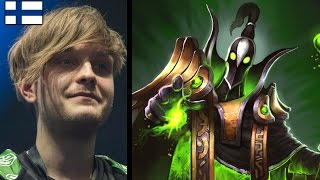JerAx 1/0/20 RUBICK vs Wings Gaming - J-GOD
