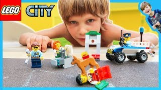 Lego City Police Dog Capture at the Park