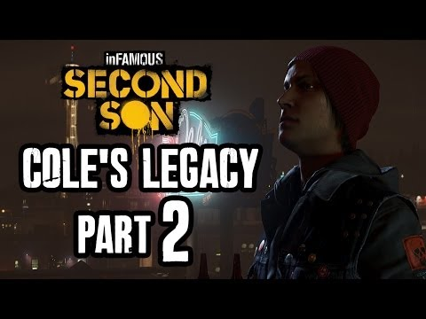 Infamous Second Son Walkthrough COLE'S LEGACY Part 2 FINALE - Gameplay Let's Play PS4