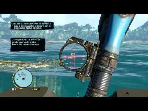 Tiburones Rojos!! WTF - El Rey De La Caza - Far Cry 3 - 2 º Episodio