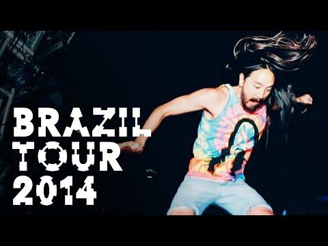 Brazil Tour 2014 - On the Road w/ Steve Aoki #135