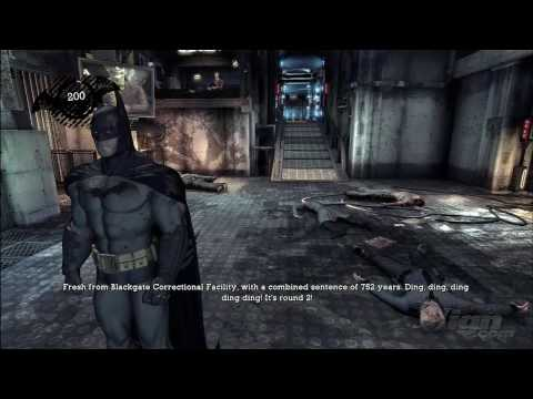 Batman: Arkham Asylum 'E3 2009 Demo Gameplay [1/2]' TRUE-HD QUALITY