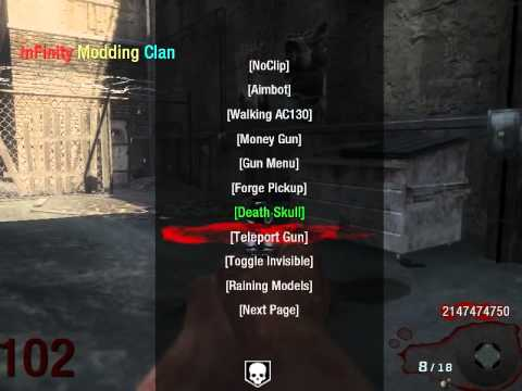 Release Black ops zombies mod menu    TU11    Xbox360 and pc
