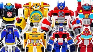 Big Hulk is angry! Transformers Rescue Bots Electronic giant Bumblebee, Chase! Go! #DuDuPopTOY