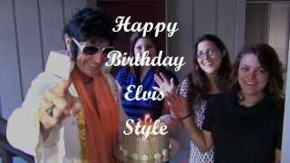 Happy Birthday, Elvis Style