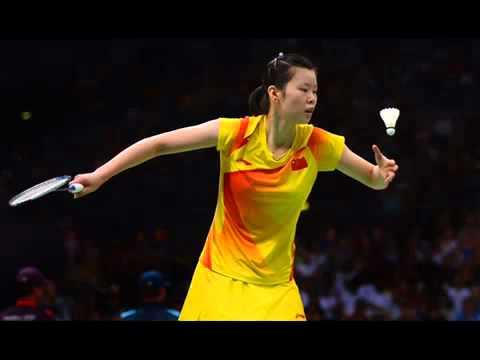 Olympic Li Xuerui beats world champ and China teammate Wang Yihan to win badminton womens gold