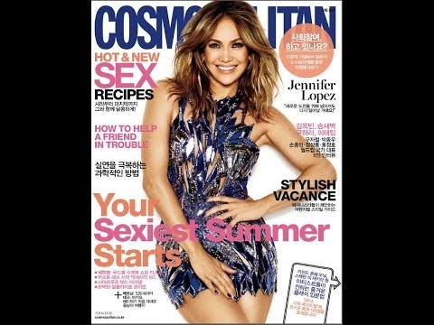 Revista, Cosmopolitan, Korea,hot Y New Sex Recipes, Sexiest Summer Starts, Jennifer Lopez, June 201 video
