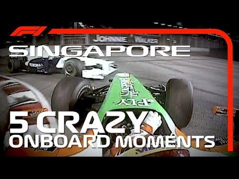 5 Crazy Onboards | Singapore Grand Prix