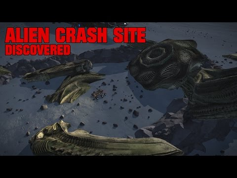 В Elite: Dangerous обнаружено место крушения корабля пришельцев