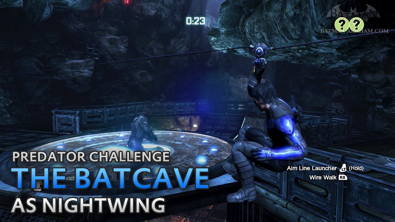 Arkham City Batcave Batman Arkham City The