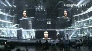 Настя На 1-й Репитиции - Anastasia Prihodko [First Rehearsal At ESC 2009]