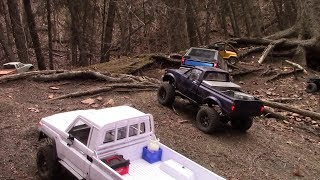d1rc club meet  -  Dawson Creek, Edmonton Apr  -  TF2 lwb  Trx-4  Ascender  Scx10.2