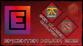 Fnatic vs MYSG / Grand Finals / Bo5 / EPICENTER Major 2019 SEAClosed Qualifier / Dota 2 Live