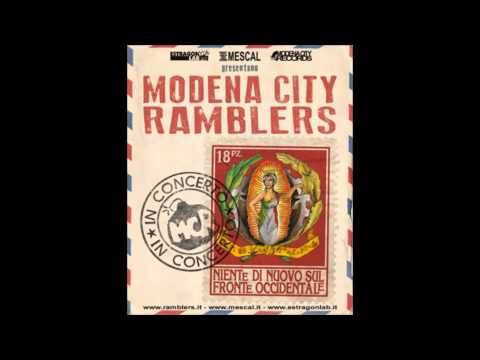 Modena city ramblers - La luna di Ferrara (8/9, CD1)