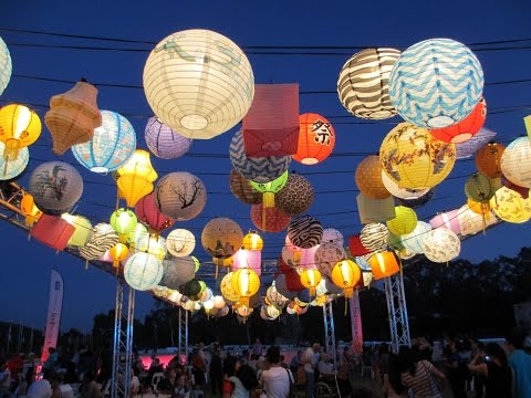 Enlighten Festival & Noodle Market 2015, Canberra ACT, Australia