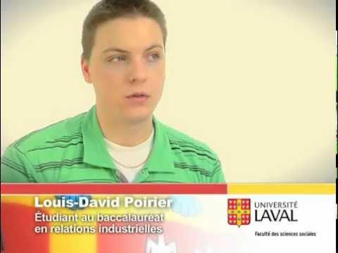 Témoignage - Louis-David Poirier, étudiant au baccalauréat en relations industrielles