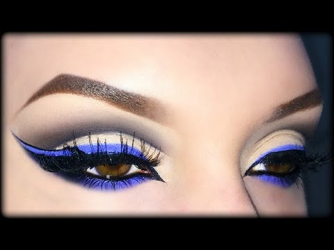 Neve Cosmetics Makeup Tutorial & Review ft. Giulia Cova (Sexy Arabic Cut Crease & Cat Eyeliner)