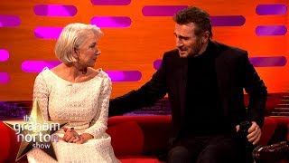Download video Helen Mirren Reunited with Ex-Boyfriend Liam Neeson | The Graham Norton Show