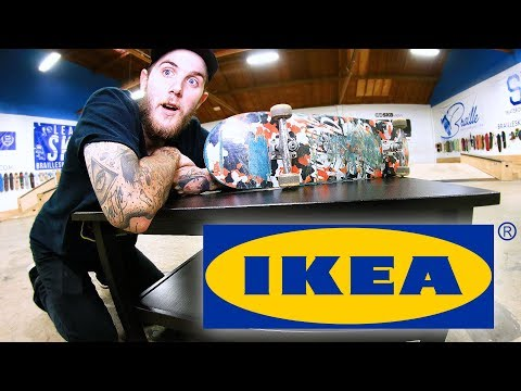 SHRED ON ANYTHING?! IKEA EDITION!